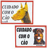 Placa de Advertência 20x30 cm